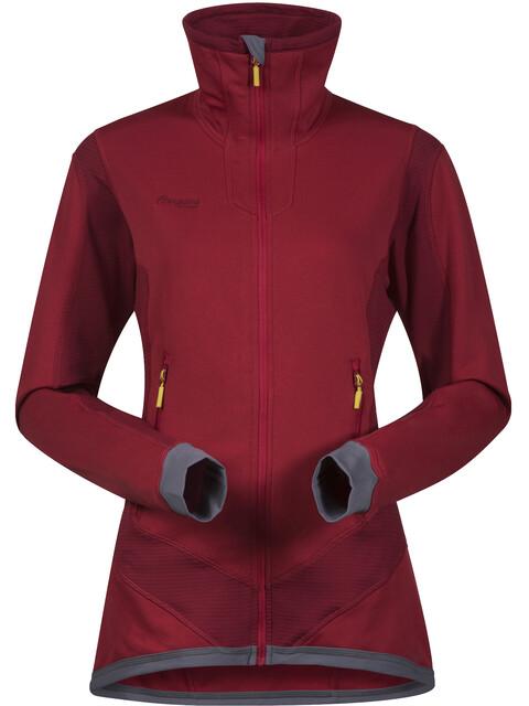 Bergans W's Roni Jacket Red/Burgundy